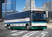 Prevost features X3-45 Commuter Coach