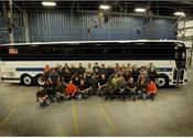 Prevost begins production of N.Y. MTA buses in Plattsburgh