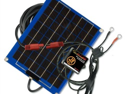 Technology used in the SP-10 Solar Pulse Solar Charger Maintainer from PulseTech Products Corp. is designed to return batteries to a like-new state.