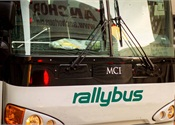 Crowdsourced bus co., Rally Bus partners with MLB's Rays