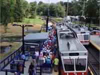 From tee to green: SEPTA service an ace for U.S. Open spectators