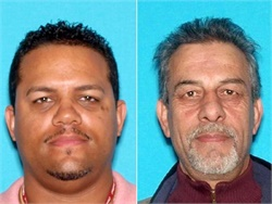 Rodman Lora (left), a former clerk for the New Jersey Motor Vehicle Commission, and Masood Ahmadi, owner of school bus company Ideal Transportation, were among those sentenced in connection with a driver's license fraud scheme.