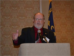 Ron Kinney of QET Management Services won NSTA's Meritorious Service Award.