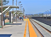 Revamped Calif. station to enhance pedestrian safety