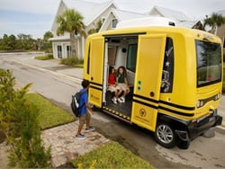 Mobility solution provider Transdev has started to run an autonomous school shuttle in Babcock Ranch, a new solar-powered community in Punta Gorda, Florida.