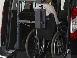 Solution Designed to Protect Wheelchair Riders in Rear-End Collisions