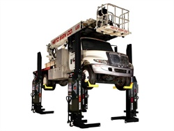 Remote-Controlled Mobile Column Vehicle Lift