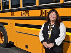Director of Transportation Jill Gayaldo started her career in the industry 30 years ago as a transportation secretary.