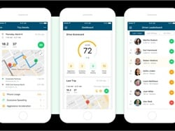 Driver Location, Behavior App