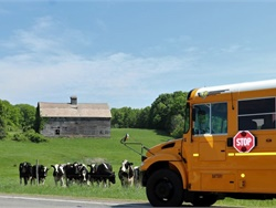 Winner: Chuck Barss of Schuylerville (N.Y.) Central Schools shared a shot of a peaceful pastoral scene in upstate New York. He noted that there are small farms similar to the one shown here along many of the district's bus routes.