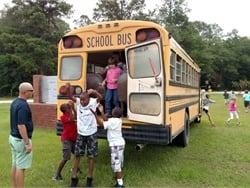 Jenkins County School System conducts an emergency evacuation drill.