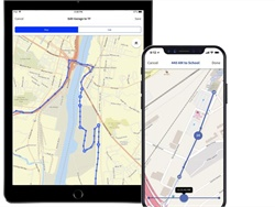 Route-Building, Navigation App