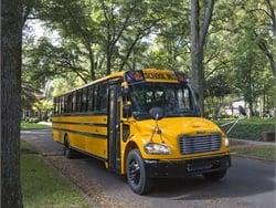 Agility Fuel Solutions has received approval from the U.S. Environmental Protection Agency for the sale of its 488LPI 8.0L V-8 propane engine, which is available on Thomas Built Buses propane Saf-T-Liner C2 school bus (shown here).