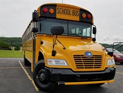 Bethel (Wash.) School District's new Blue Bird Vision Propane buses are expected to produce nitrogen oxide emissions at 0.02 NOx.