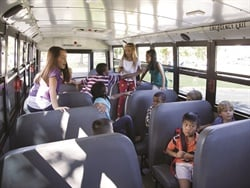 An article about how to effectively prevent student misbehavior on the bus was the most-viewed feature on the SBF website this year. Photo courtesy National Highway Traffic Safety Administration