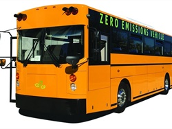 Paso Robles Joint Unified School District is adding one GreenPower Synapse 72 electric school bus to its fleet.