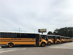 The Lake County (Fl.) Schools board agreed to a $1.2 million deal to install new Motorola radio systems on all of the district's school buses.
