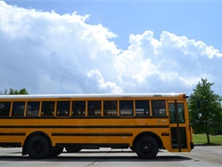 The Rhode Island departments of Environmental Management, Health, and Elementary and Secondary Education sent a joint letter to school superintendents asking them to enforce state regulations that limit school bus idling time. File photo