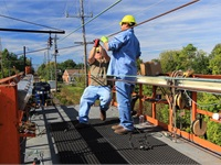 Catenary Replacement Plan Leads to 150 Miles of Success