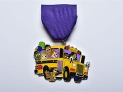 San Antonio (Texas) Independent School District's transportation department won first place in a local contest for a medal it designed to represent team and hometown pride.