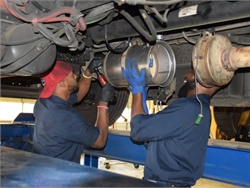 For diesel technicians, the Bureau of Labor Statistics projects an average annual new entrant demand of 28,300. File photo courtesy Atlanta Public Schools