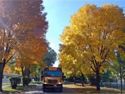 A school bus represents hope for children who are excited to get to school to learn, as well as for parents who hope that their children will be safe and well prepared for life. Photo courtesy Sunrise Transportation