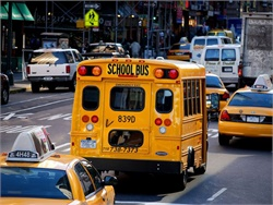 Potential school bus driver strikes had threatened to impact thousands of students in New York City (pictured) and Toronto. Photo by Katrina Falk