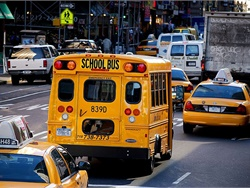 Two bills that would strengthen pre-employment and random drug and alcohol testing of school bus drivers passed in the New York legislature and await the governor's signature. File photo courtesy Katrina Falk