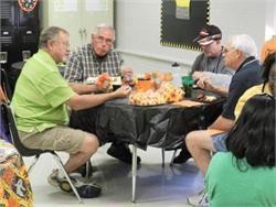 Kansas Gov. Sam Brownback designated Oct. 19 as a day to honor the state's more than 4,200 school bus drivers. Seen here is a driver appreciation event in Tennessee.