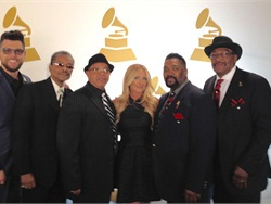 School bus driver and bass singer Joe Thompson, is shown here on the right, with his gospel quartet The Fairfield Four, and Lee Ann Womack. The quartet won a Grammy award for Best Roots Gospel Album.