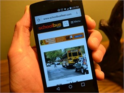 <I>School Bus Fleet</i> launches new website, new look