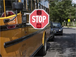 New York Gov. Andrew Cuomo's 2018 agenda includes initiatives to address illegal passing of school buses, replacement of old buses, and bullying. Photo courtesy NHTSA