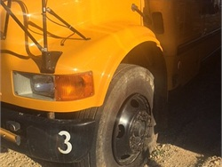 Two students allegedly deflated tires, destroyed valve stems, and smashed windows on 18 buses belonging to School of the Osage. Photo by Tony Hatfield.