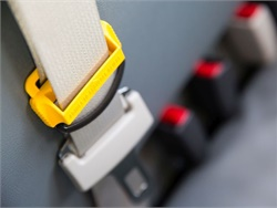 NHTSA has launched a project to learn more about the decision-making process on whether to implement seat belts on school buses. Photo courtesy Des Moines (Iowa) Public Schools