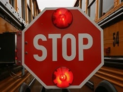 Montgomery County Public Schools will install stop-arm cameras on all of its school buses by the start of the 2019-20 school year. File photo courtesy Lois Courdes