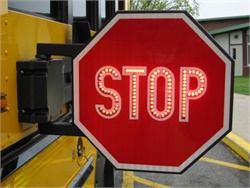 The New York Senate has passed multiple bills that would crack down on illegal school bus passing by toughening penalties through increased fines and license suspension. Photo courtesy New York School Bus Contractors Association