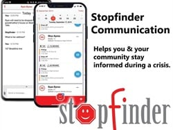 North American school districts can now get Transfinder's Stopfinder Communication app free of charge through the end of 2020 instead of the end of this school year. Photo courtesy Transfinder