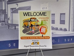 For National School Bus Safety Week, the New York School Bus Contractors Association is holding a variety of school bus safety events throughout the state. One such event is the Tribute to School Bus Safety Event, held by Suffolk Transportation Service.