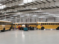Sumner County Schools' fleet is now equipped with a GPS system from Synovia Solutions.