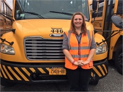Suzanne Caldeira, who oversees safety operations at 19 First Student locations, has been named a 2016 Rising Star of Safety by the National Safety Council.