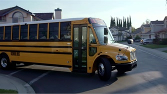 VIDEO: Saf-T-Liner C2 Jouley Electric School Bus Walk-Around