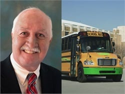 John Roselli will handle sales, education and training for Thomas Built Buses' green vehicle lineup, including the Saf-T-Liner C2 CNG (pictured).