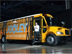 Thomas Built Reveals New Electric School Bus