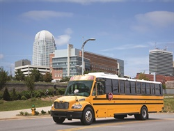 Production of Thomas Built Buses' new Saf-T-Liner C2 propane school bus is expected to begin early August 2019.