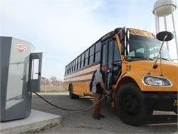 Maconaquah School Corp. implemented a new 1,200-gallon bulk diesel exhaust fluid system from Thunder Creek Equipment.