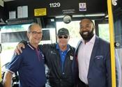 Palm Tran celebrates 41-year career of bus operator