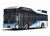 Toyota announces plans to sell fuel-cell buses