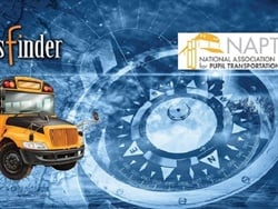 The National Association for Pupil Transportation and Transfinder are launching a weekly webinar series to help school districts navigate the COVID-19 health crisis. Photo courtesy Transfinder