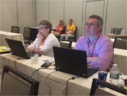 School bus routing software developer Transfinder Corp. kicked off its eighth Annual Client Summit. Shown here are attendees at a previous Annual Client Summit.