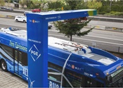 TriMet's New Flyer electric buses powered entirely by wind